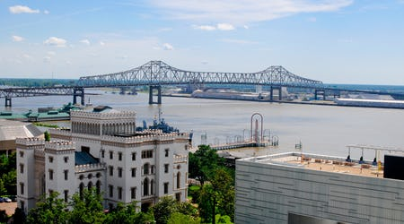 Baton Rouge, Louisiana, skyline