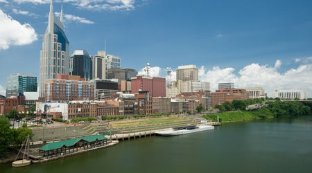 Nashville, Tennessee, skyline
